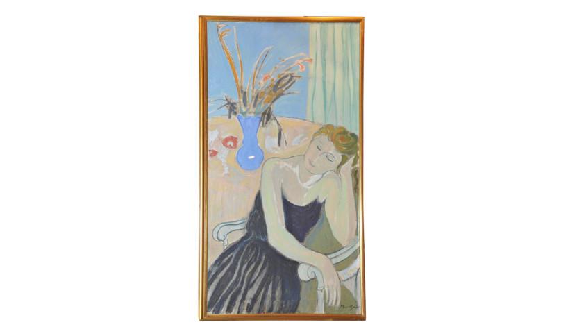 Dipinto olio su tela di Francesco Menzio