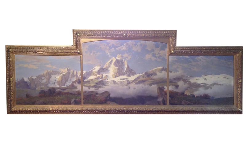 Dipinto olio su tela di Leonardo Roda