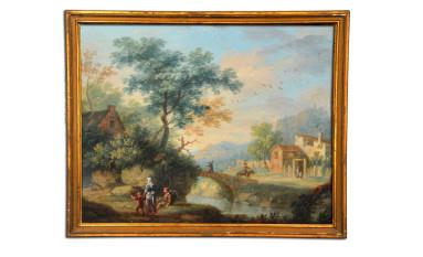 Dipinto su rame di Vittorio Amedeo Cignaroli