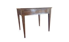 Tavolino scrittoio neoclassico ad un cassetto