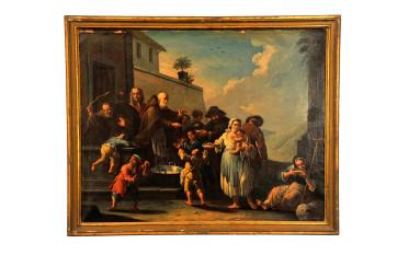 Dipinto olio su tela di Giovanni Michele Graneri